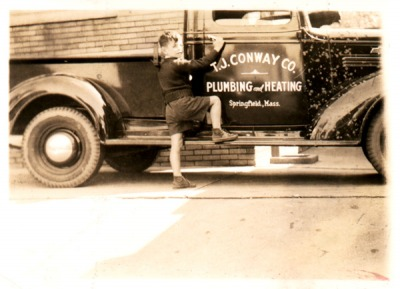 T.J. Conway Company truck from 1920